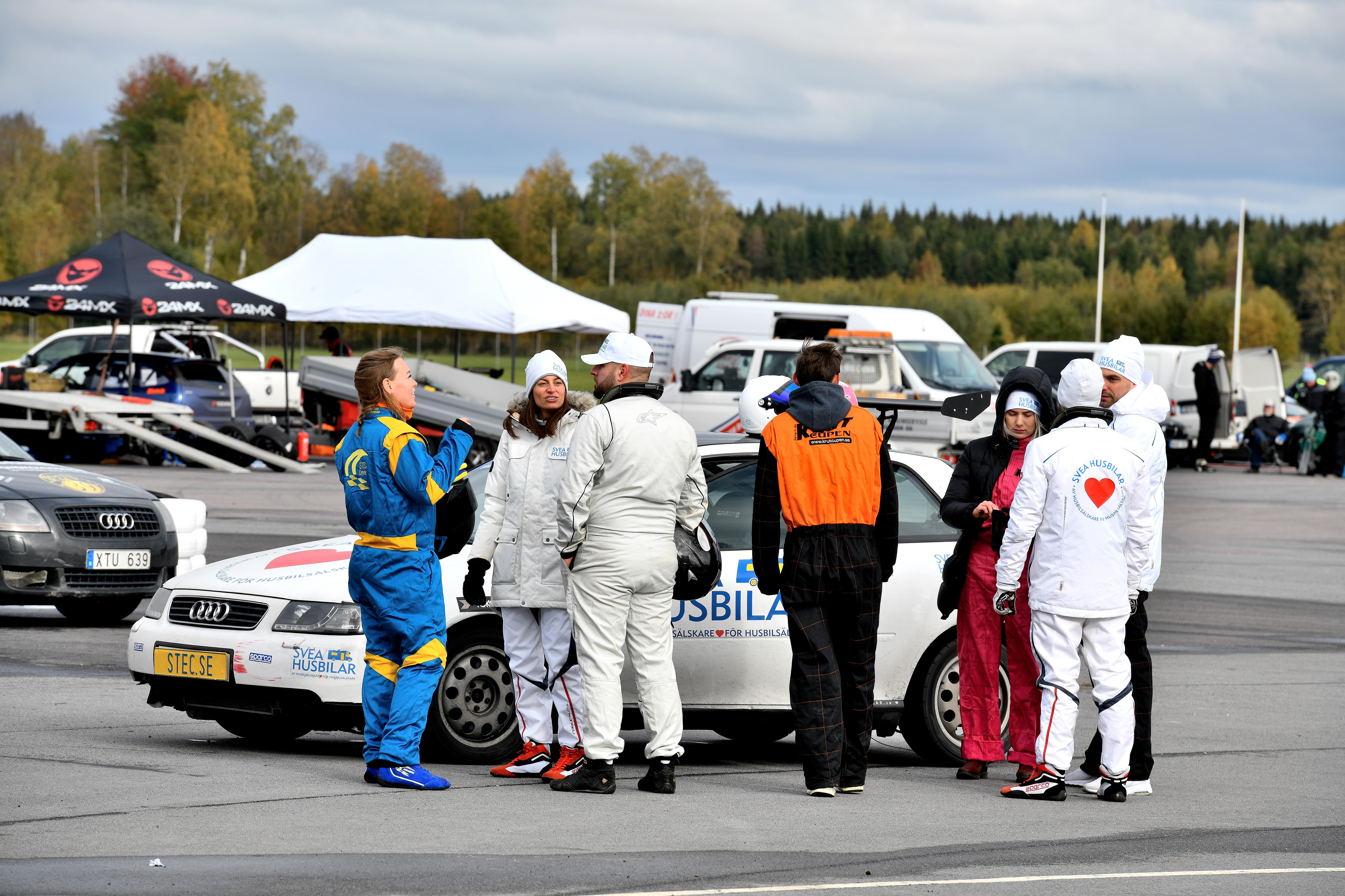 Evenemangsfotografering på Tierp Arena RallyXNordic Final